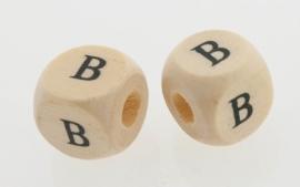 Letterkraal hout letter B