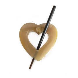 Breiwerksluiting 100% hoorn hart
