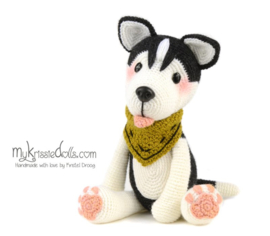 Mijn hondjes van sokkenwol door Kristel Droog