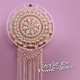 Wandhanger Haakpakket bij patroonboekje: Style en Home-deco