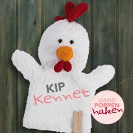 Haakpakket Kip Kennet uit boek Handpoppen haken Cute Dutch