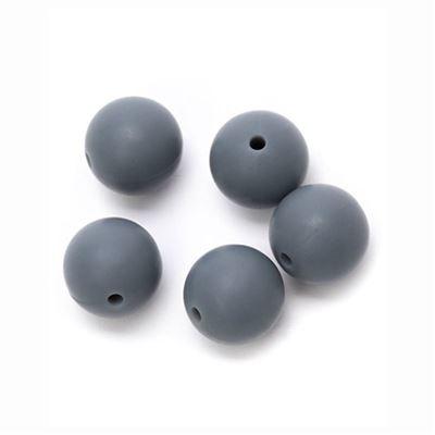 Durable Siliconen kralen 15mm 5st