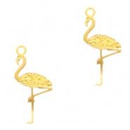 Bedel bohemian flamingo goud