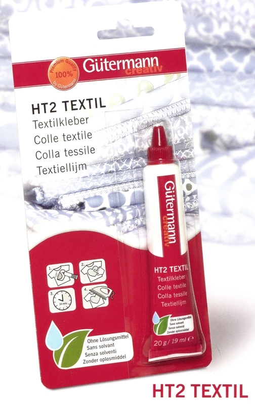 Gutermann textiellijm oplosmiddelvrij 20 gram