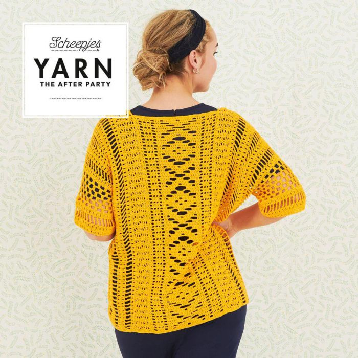 Yarn, the after party Patroon Boho chic Cardigan  nr 67