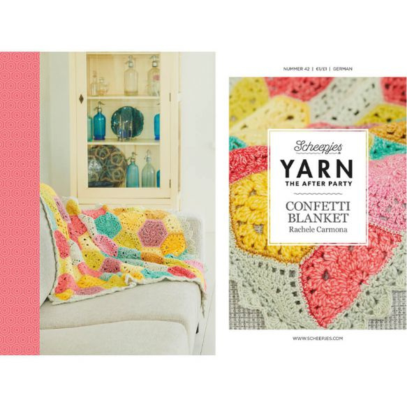Yarn, the after party Patroon Confetti Blanket nr 42