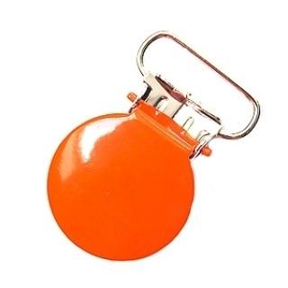 Speenclip rond Oranje 20mm