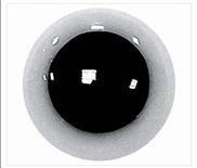 Veiligheidsoogjes 6 mm Wit   NIET transparant