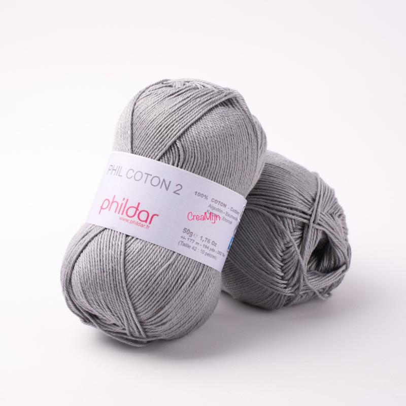 Phildar Coton 2 Elephant 0066