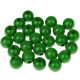 "Houten kraal 18 mm ""babyproof"" Groen"