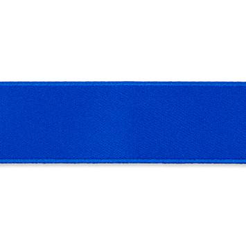 Dubbelzijdig Satijnlint  Koningsblauw