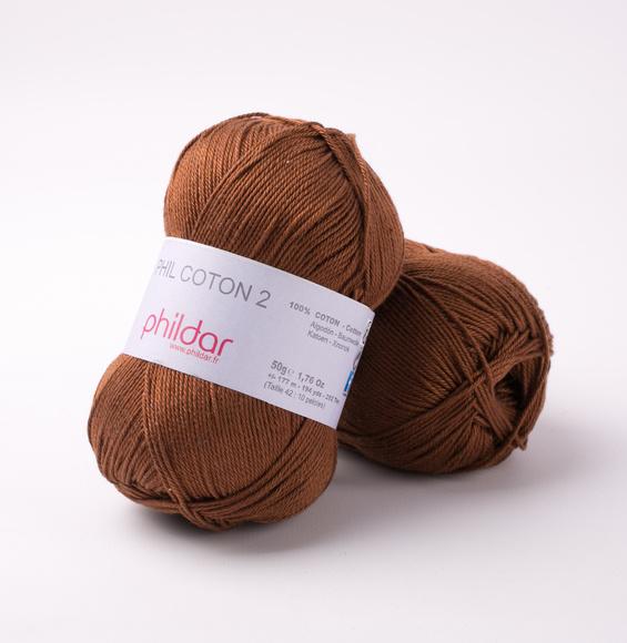 Phildar Coton 2 Havane