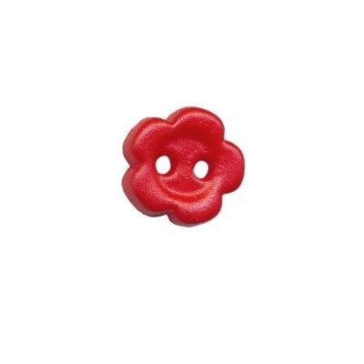 Bloemknoopje  10 mm Rood