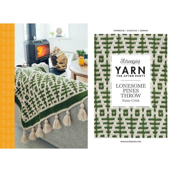 Yarn, the after party Patroon Lonesome Pines Throw nr 86