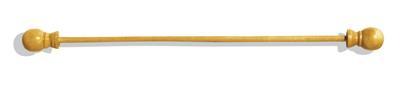Wandtapijtstok naturel 27cm
