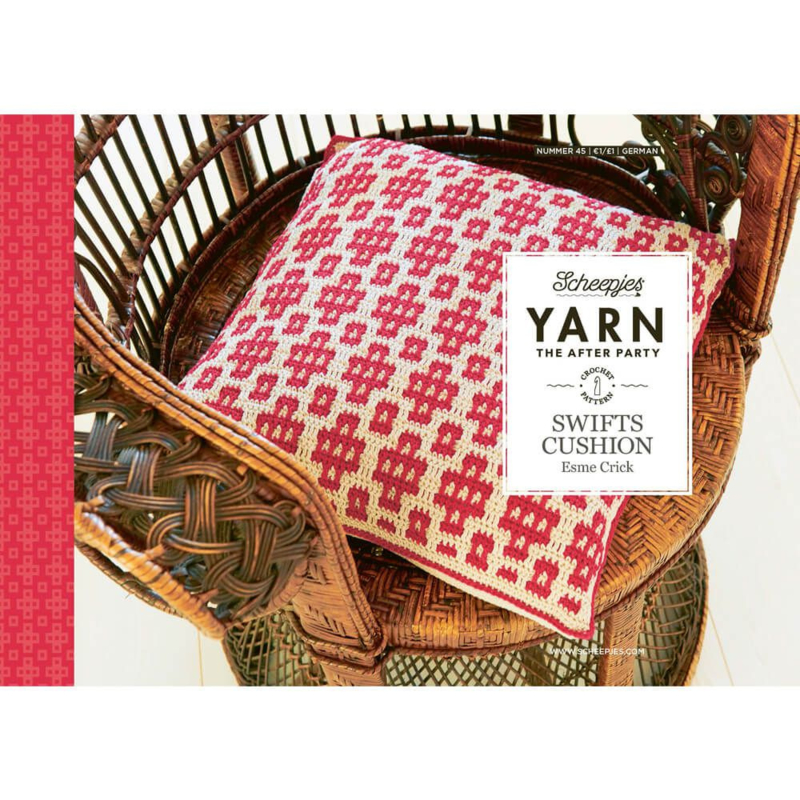 Yarn, the after party Patroon Swifts Cushion nr 45