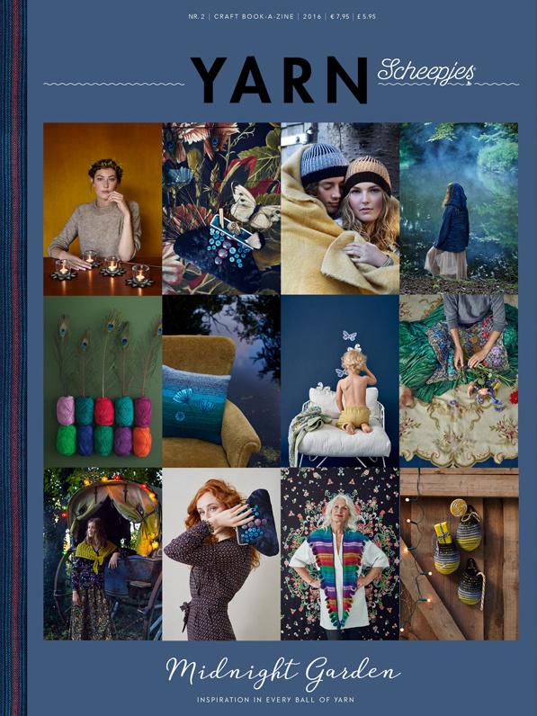 Yarn Midnight Garden Scheepjes magazine