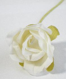 Roosje ter decoratie 20mm Wit