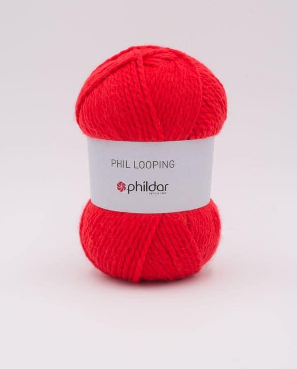 Phildar Phil Looping 2197 Rouge