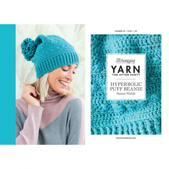 Yarn, the after party Patroon Hyperbolic Puff beanie  nr 78