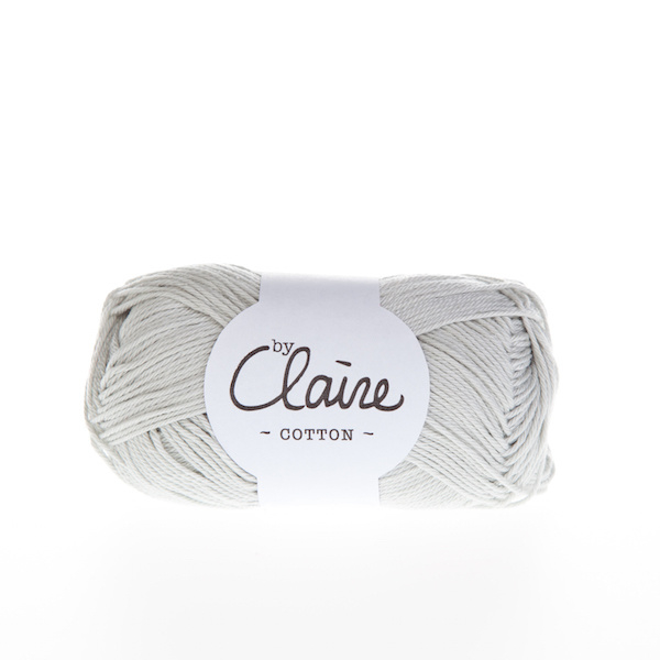 byClaire cotton 052 Silver grey