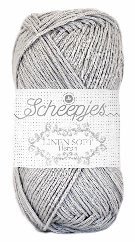 Scheepjes Linen Soft 618 Lichtgrijs