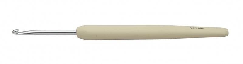 KnitPro waves haaknaald 3,25 mm Beige