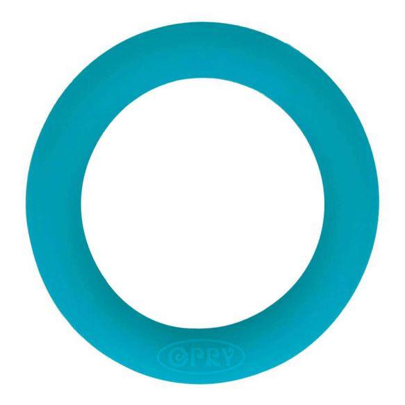 Opry siliconen bijtring 65mm kleur 287 Turquoise