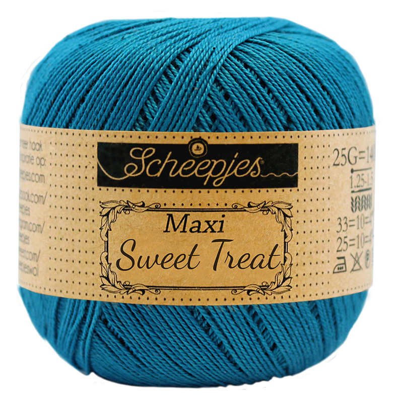 Scheepjes Maxi Sweet Treat (Bonbon) 400 Petrol Blue