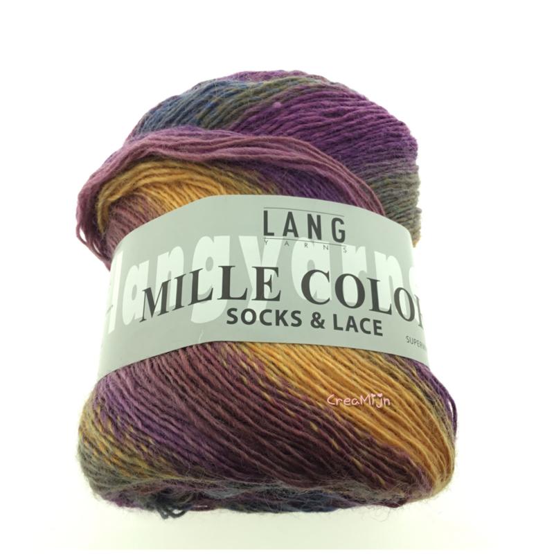 Lang Yarns Mille Color socks & lace 90