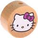 Houten kraal rond ''Hello Kitty'' blank ''babyproof''