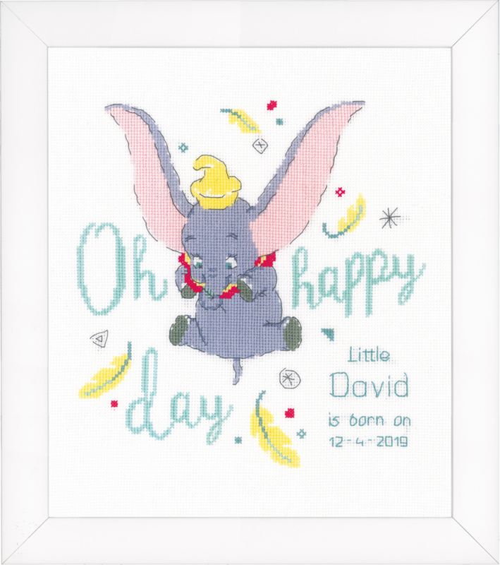 Telpakket kit Disney Dumbo Oh happy day