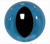 Kattenogen Blauw 21mm