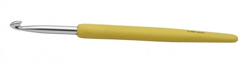 KnitPro waves haaknaald 5,0 mm Geel
