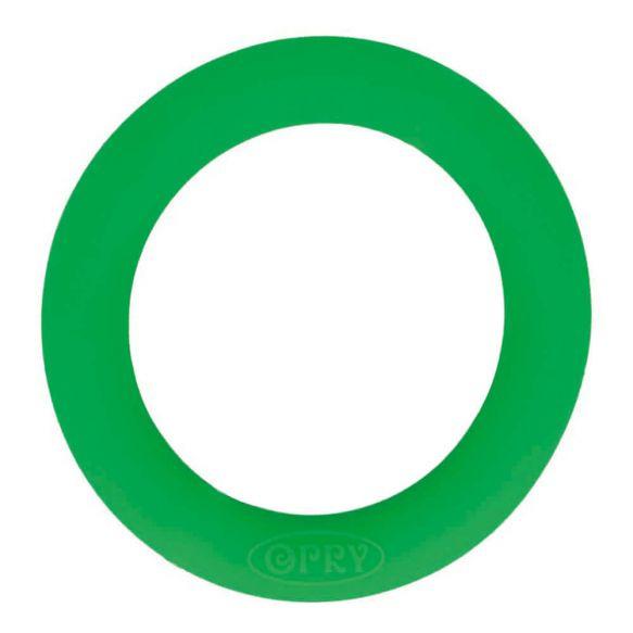 Opry siliconen bijtring 65mm kleur 433 Groen