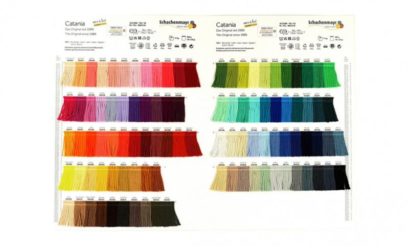Staalkaart SMC Catania 100 kleuren