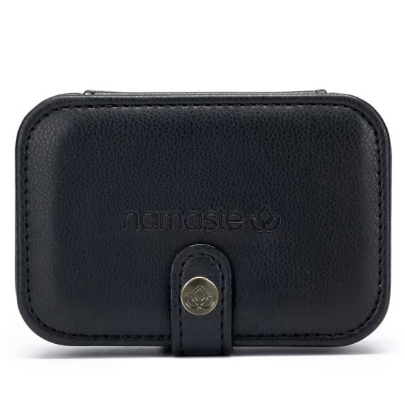 Namaste Buddy Case klein  11,7 x 7,8 x 4,6cm Zwart