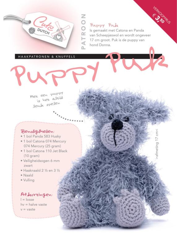 Patroonboekje Puppy Puk