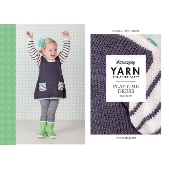 Yarn, the after party Patroon Playtime Dress nr 34