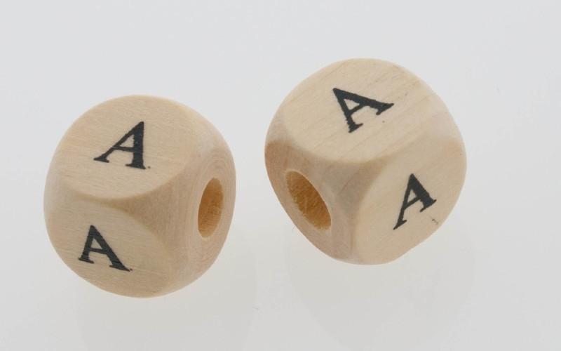 Letterkraal hout letter A