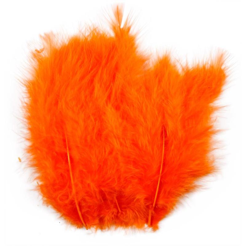 Veertjes 5-12cm ±15 stuks - Oranje