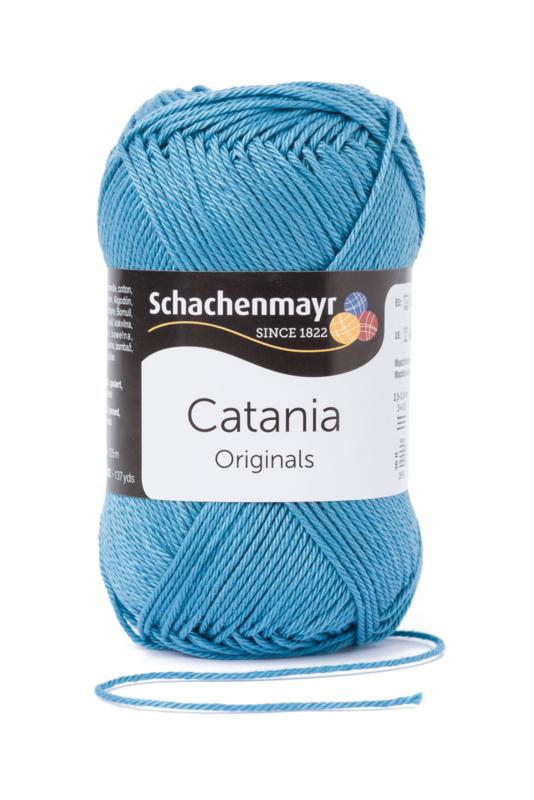Catania katoen 380 Kachelblau