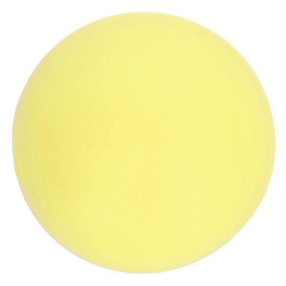 Opry Siliconen kralen 5 stuks 15mm kleur 638 Zachtgeel