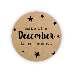 Kadosticker Make it a December to remember...  10 st