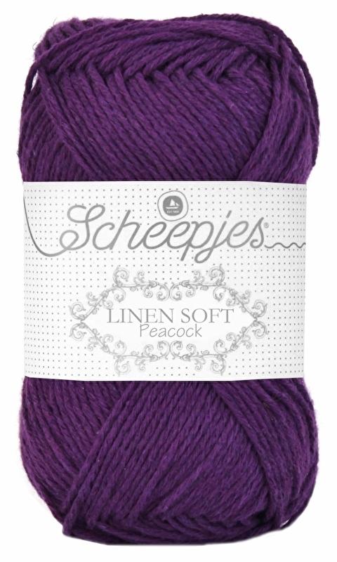 Scheepjes Linen Soft 602 Paars