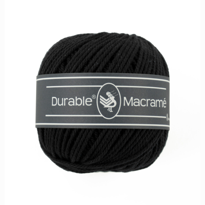 Durable Macrame 325 Black