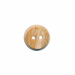 Houtlook acryl knoop 11mm lichtbruin