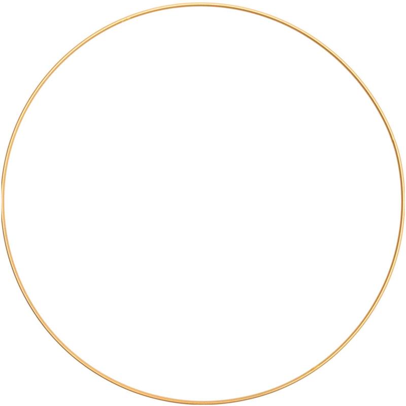 Rico Metalen ring 30cm Donkergoud