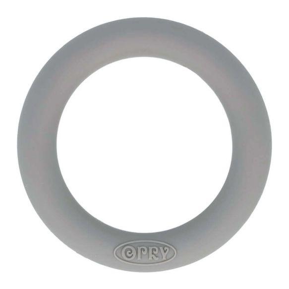 Opry siliconen bijtring 65mm kleur 002 Donkergrijs