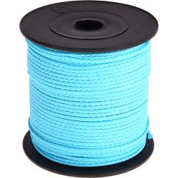 Nylon/polyester koord Licht Turquoise